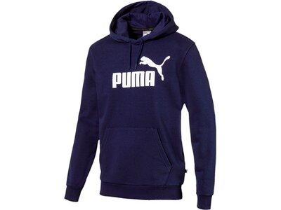 "PUMA Herren Sweatshirt ""ESS Hoody TR Big Logo"" Blau"