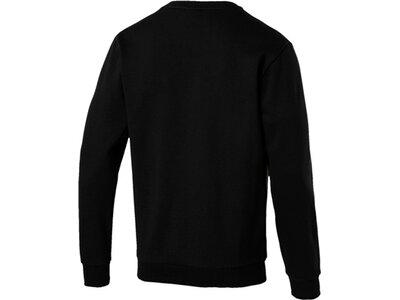 PUMA Herren Sweatshirt ESS Logo Crew Sweat FL Big Logo Schwarz