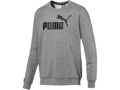 PUMA Lifestyle - Textilien - Sweatshirts Essential Crew Big Logo Sweatshirt Grau