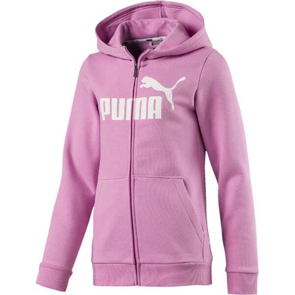 PUMA Kinder Sweatshirt ESS Hooded Jacket FL G