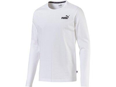 PUMA Herren T-Shirt ESS No.1 Logo LS Tee Pink