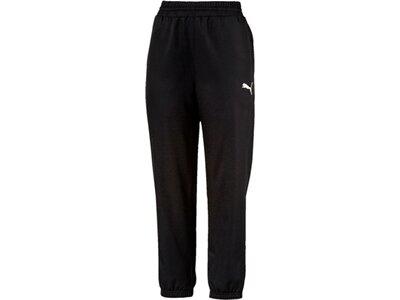 PUMA Damen Trainingshose Active Woven Pants Schwarz