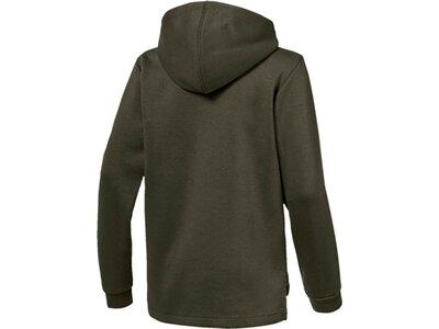 PUMA Kinder Kapuzensweatshirt ENERGY FZ B Grau