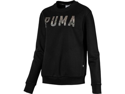 PUMA Damen Sweatshirt ATHLETIC Crew Schwarz