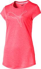 "PUMA Damen Trainingsshirt ""Active Logo Heather Tee"""