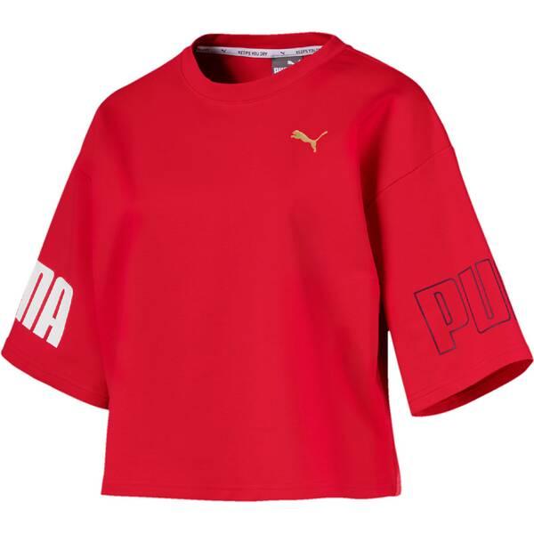 """PUMA Damen Trainingsshirt """"Modern Sport Sweat Tee"""" Dreiviertellang"""