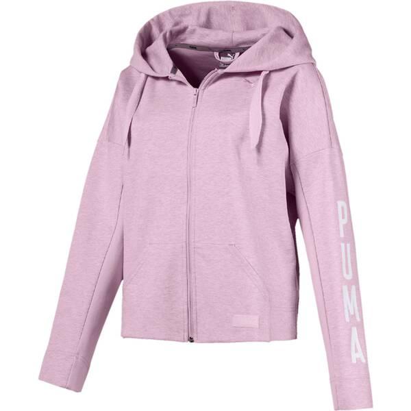 PUMA Damen Sweatshirt FUSION FZ Hoody