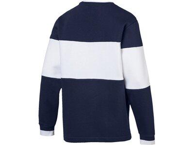 PUMA Herren Sweatshirt Rebel Block Crew FL Blau