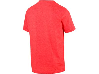 PUMA Lifestyle - Textilien - T-Shirts Essential Heather T-Shirt Rot