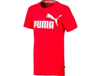 PUMA Kinder ESS Logo Tee B Rot