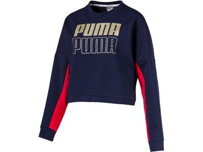 PUMA Damen Sweatshirt MODERN SPORT Blau