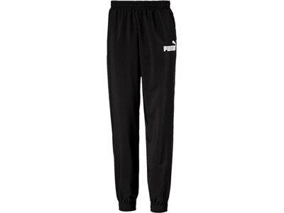 PUMA Kinder Trainingshose ESS Logo Woven Pants cl B Schwarz