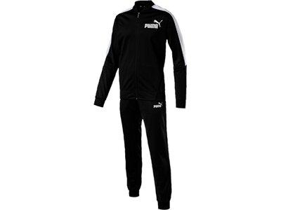 PUMA Herren Trainingsanzug Baseball Tricot Suit Cl. Schwarz