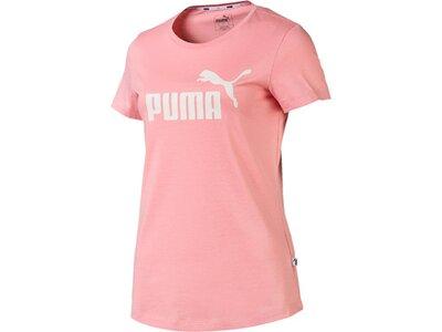 PUMA Damen T-Shirt ESS Logo Tee Pink
