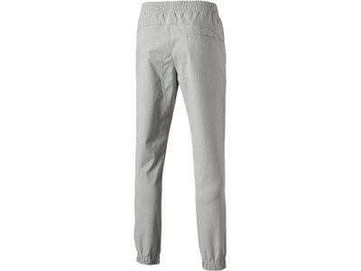PUMA Herren Jogginghose Fusion Pants Silber