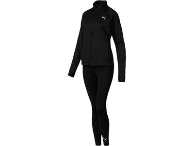 PUMA Damen Trainingsanzug Yoga Inspired Suit Schwarz
