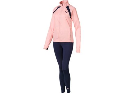 PUMA Damen Trainingsanzug Yoga Inspired Suit Pink