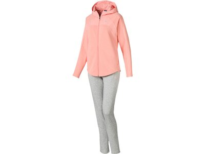 PUMA Damen Trainingsanzug MMIX Suit CL Pink