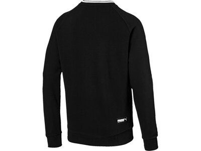 PUMA Herren Sweatshirt Athletics Crew TR Schwarz
