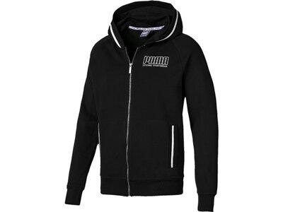 PUMA Herren Sweatjacke Athletics Hooded Jacket TR Schwarz