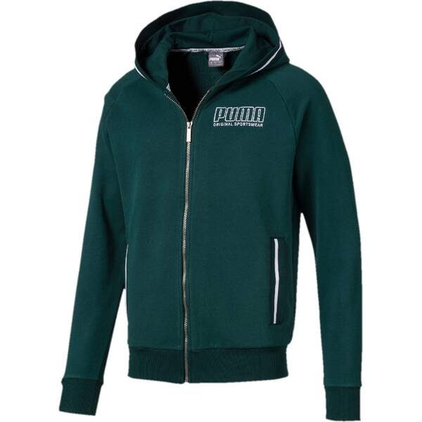 PUMA Herren Sweatjacke Athletics Hooded Jacket TR