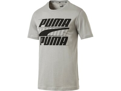 PUMA Herren T-Shirt Rebel Basic Tee Silber