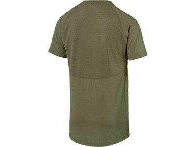 PUMA Herren T-Shirt Evostripe Lite Tee Braun