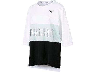 PUMA Damen T-Shirt Modern Sports Boyfriend Tee Weiß