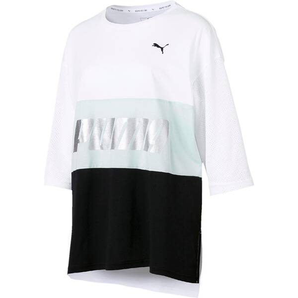 PUMA Damen T-Shirt Modern Sports Boyfriend Tee