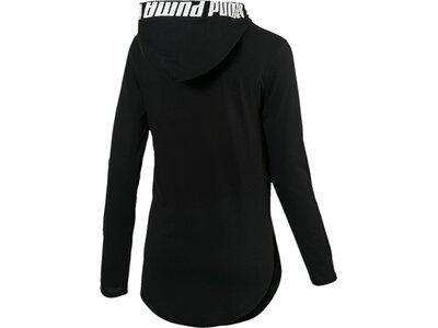 PUMA Damen T-Shirt Modern Sports Light Cover up Schwarz