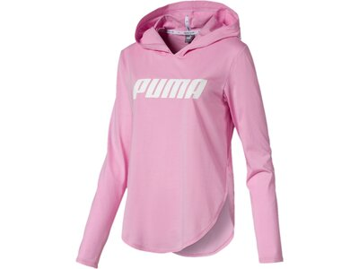 PUMA Damen T-Shirt Modern Sports Light Cover up Pink
