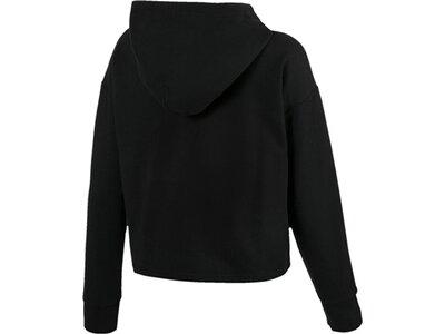 PUMA Damen Sweatshirt mit Kapuze Schwarz