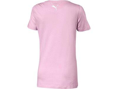 PUMA Kinder T-Shirt Alpha Logo Tee G Pink