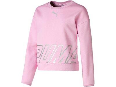 PUMA Kinder Sweatshirt Alpha Crew Sweat TR G Pink