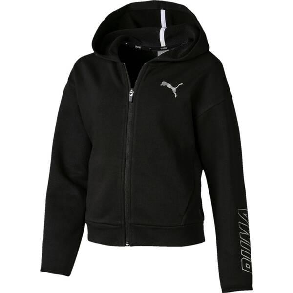 PUMA Kinder Sweatjacke Alpha Hooded Sweat Jacket G