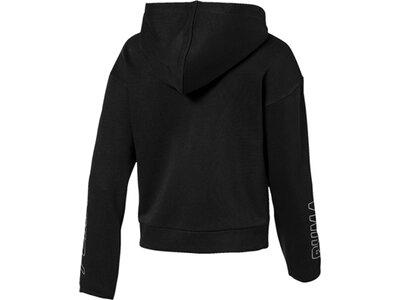 PUMA Kinder Sweatjacke Alpha Hooded Sweat Jacket G Schwarz