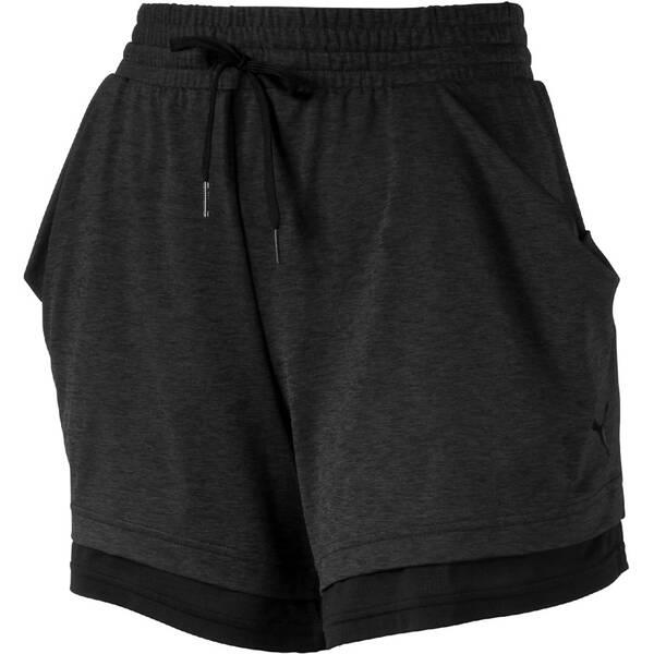 PUMA Damen Shorts Soft Sports Drapey Shorts