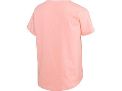 PUMA Damen T-Shirt Fusion Tee Pink