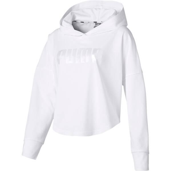 low priced 6c55c 93dda PUMA Damen Hoodie Summer Cropped Light Hoody