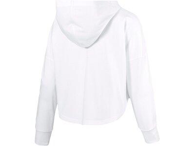 PUMA Damen Hoodie Summer Cropped Light Hoody Weiß