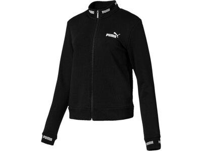 PUMA Damen Sweatjacke Amplified Track Jacket TR Schwarz