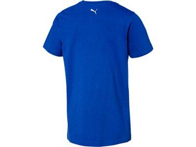 PUMA Kinder T-Shirt Alpha Graphic Tee B Blau