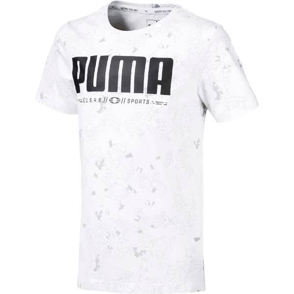 PUMA Kinder T-Shirt Active Sports AOP Tee B