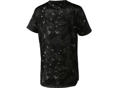 PUMA Kinder T-Shirt Active Sports PES AOP Tee B Schwarz