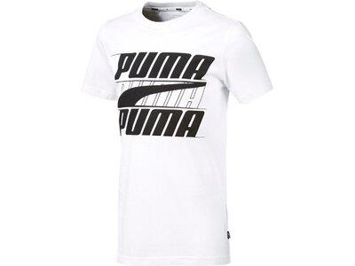 PUMA Kinder T-Shirt Rebel Bold Tee B Grau