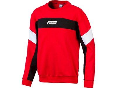 PUMA Kinder Sweatshirt Rebel Crew Sweat B Schwarz
