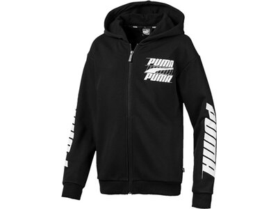 PUMA Kinder Sweatjacke Rebel Bold Hooded Jacket TR B Schwarz