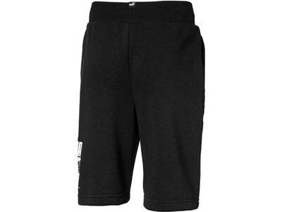 PUMA Kinder Shorts Rebel Bold Shorts TR B Schwarz