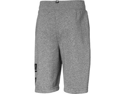 PUMA Kinder Shorts Rebel Bold Shorts TR B Grau