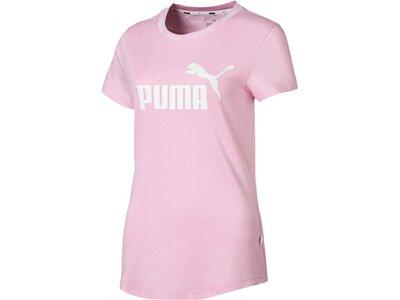 PUMA Damen T-Shirt Amplified Tee Pink